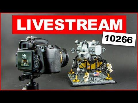 LEGO 10266 NASA Apollo 11 Lunar Lander - Making of Speed Build