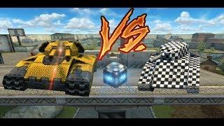 Tanki Online - Juggernaut Vs M0's On Golds!