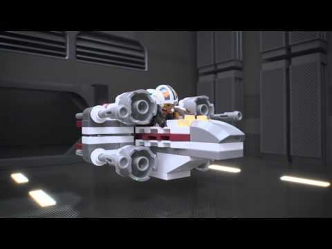 Vidéo LEGO Star Wars 75032 : X-Wing Fighter