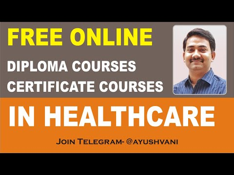 Free online diploma certificate courses in Healthcare after BAMS ...