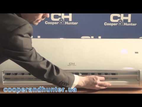 COOPER&HUNTER ARCTIC DESIGN CH-S12FTXS-W Video #1
