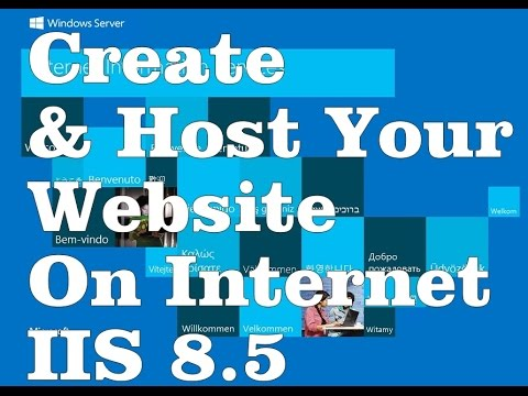How to Create and Host Website using IIS