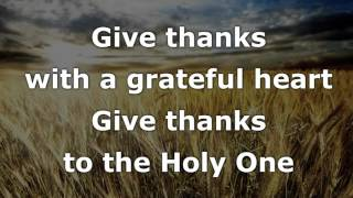 Give Thanks (with A Grateful Heart) Instrumental