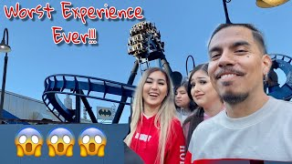 A Day At 6 Flags Magic Mountain!!!