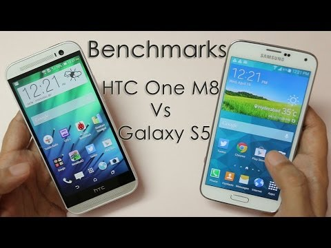 Benchmarks HTC One M8 vs Samsung Galaxy S5 (Exynos Octa Core)