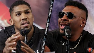 THE BACK & FORTH ANTHONY JOSHUA VS JARRELL MILLER NEW YORK PRESS CONFERENCE FROM MSG!