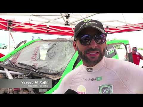 Yazeed Alrajhi & Dirk Zitzewitz @ Kazakhstan Rally 2019, SS3