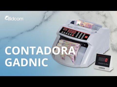 Contador de billetes Gadnic detector falsos Envío gratis dinero CONT0001