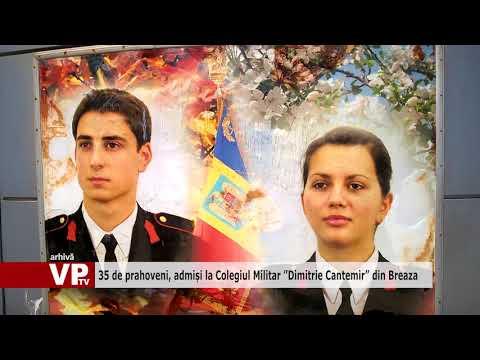 """35 de prahoveni, admiși la Colegiul Militar """"Dimitrie Cantemir"""" din Breaza"""