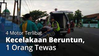 4 Motor Terlibat Kecelakaan Beruntun di Kendal, Saksi Mata: 2 Pemotor Langsung Pergi Tinggalkan TKP