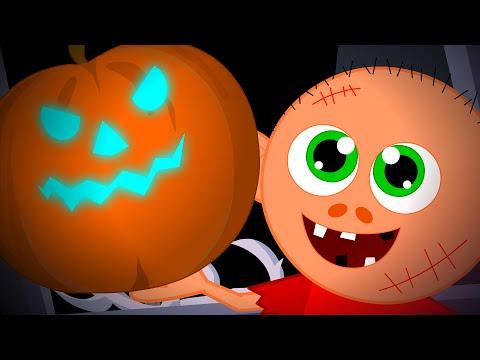 Scary Pumpkin   Hello It's Halloween   Halloween Nursery Rhyme And Kids Songs