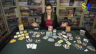 Genre im Fokus 01 - Fünf Kartenspiele im Vergleich - Spiel doch mal...!
