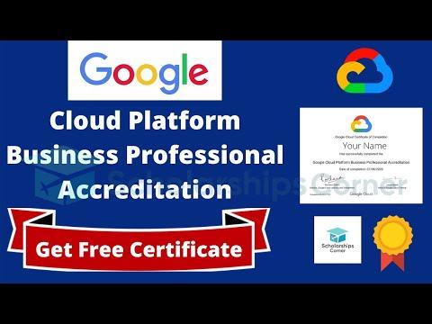 Google Free Professional Certification | Google Cloud Course ...
