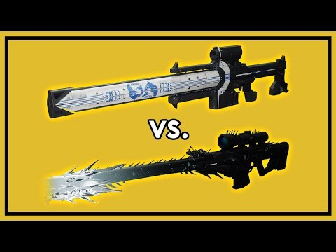 Destiny 2: Izanagi's Burden vs. Whisper of the Worm - Garden of Salvation Damage Test