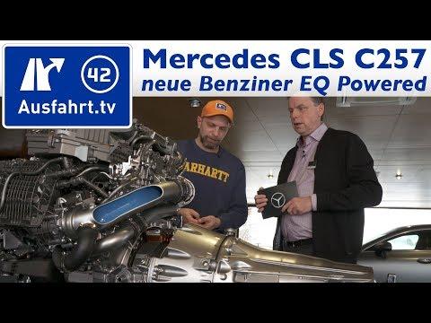 Neue Motoren Generationen im Mercedes-Benz CLS (C257)