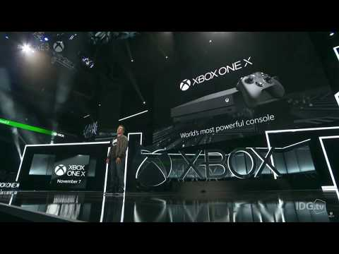 Microsoft Xbox One X unveil | E3 2017