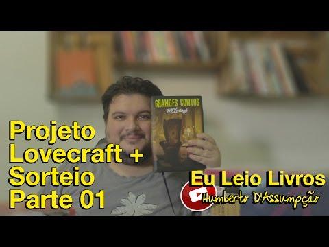 Sorteio + Projeto H.P. Lovecraft - Eu Leio Livros