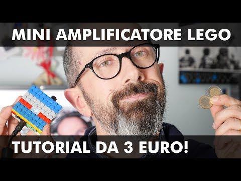 MINI AMPLIFICATORE LEGO: TUTORIAL DA 3 EURO!
