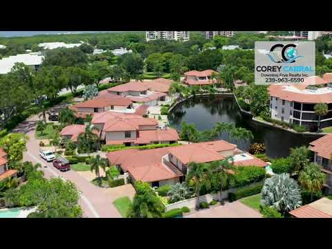 Pelican Bay Renaissance Naples Florida 360 degree video fly over