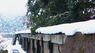 JR三江線の大雪運休 沿線現況 新線・南線区間 (14-Jan-2018) 浜原~三次