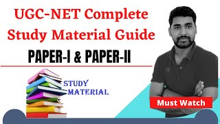 Complete Study Material guide for NTA UGC NET june 2019।।#ntanet