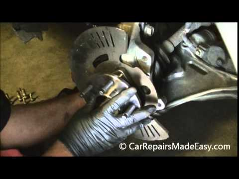 Cadillac DTS Front Hub Bearing Replacement