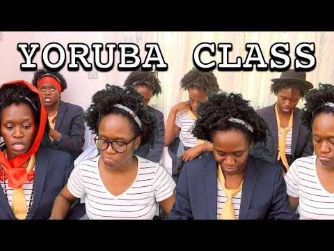 Video: Maraji Comedy - Different Students in a YORUBA class