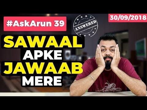#AskArun 39- Realme 2 Pro Vs Motorola One Power, OnePlus 6T, Redmi Note 6 Pro, 5G phone launch