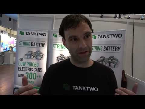 TankTwo Showcases String Batteries at the IDTechEx Show! In Berlin