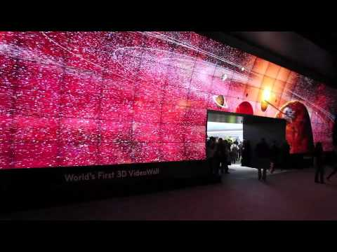 LG Probably Had The Best CES Booth With This Awesome Cinema Scape