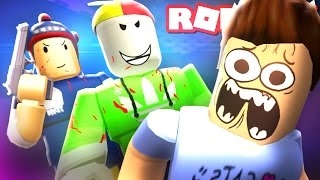 ESCAPE THE EVIL YOUTUBERS IN ROBLOX