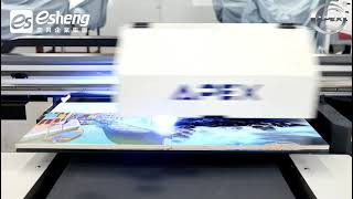 UV直噴磁磚好便利|APEX UV6090I 桌上型雙噴頭UV數位印刷機|UV直噴機推薦|奕昇有限公司