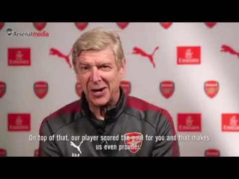 WATCH: Arsène Wenger's Congratulatory Message to Nigerian Fans