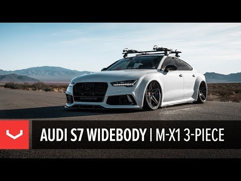 Audi S7 | Vossen Forged M-X1 3-Piece Wheels | Las Vegas