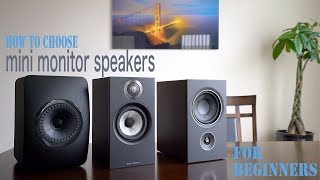 How To Choose Passive Mini Monitor Speakers For Beginners