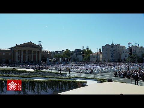 Papst Franziskus in Budapest und Bratislava: Tag 1 im Video