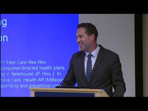 """IHPI Seminar: """"Helping Patients in High-Deductible Health Plans Get the Care They Need..."""