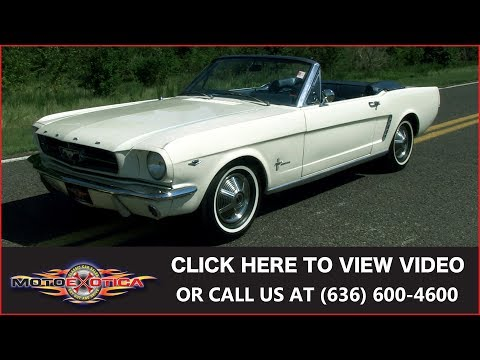 Video of '65 Mustang - LWFQ