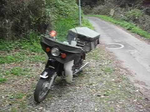 ①バイクCD125Tの実用的?装備説明