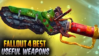 Fallout 4 Rare Weapons - TOP 10 Unique, Secret & Best Melee Weapons!
