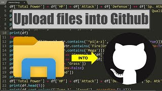 How to upload files into Github | 2021