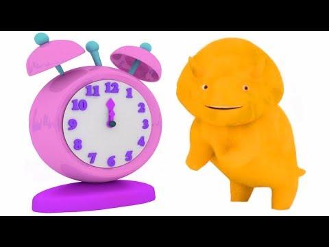 Impara I NUMERI con l'orologio con Dino il Dinosauro | Cartone animato educativo per bambini