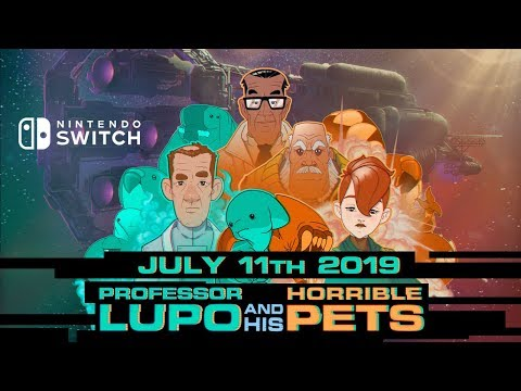 Professor Lupo and his Horrible Pets - Available on Switch! Alien indie puzzle adventure thumbnail