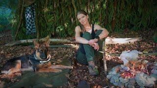 Allein in den Wäldern - Aikas erste Bushcrafttour - Naturnah schlafen im Wald + Verlosung