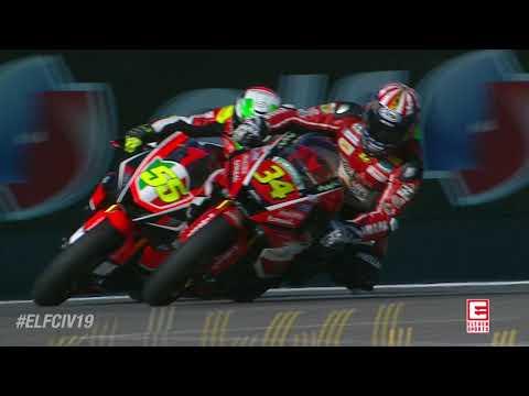 ELFCIV19 Supersport: Round 3 Imola - Race 2