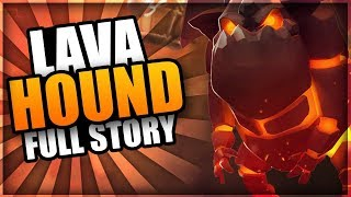 Clash of Clans Animation - How was the LAVA HOUND created? | The FULL Lava Hound Origin Story