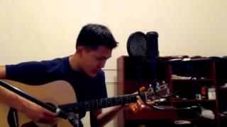 Kudai - Hoy No Estás (cover acústico / guitarra) - Charlie Tan