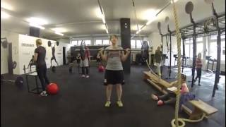 preview picture of video 'open workout 14.1 @ the crossfit zug, switzerland'