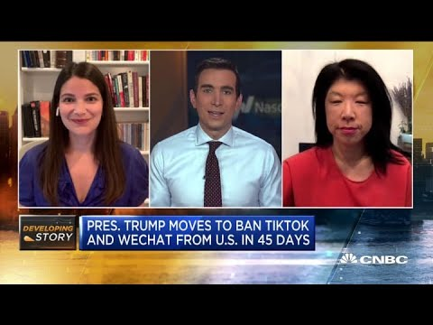 How worried are American companies operating in China about Donald Trump's TikTok ban?