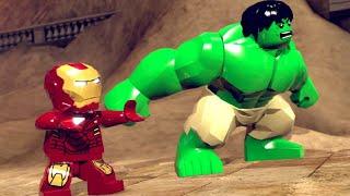 LEGO Marvel Super Heroes Walkthrough 1 - Sand Central Station (Demo) - Stan Lee in Peril